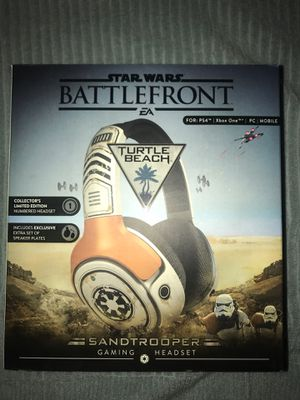 Star Wars,Sandtrooper, Turtle Beach, gaming headset for Sale in New Eagle, PA