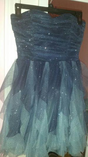 Super cute blue hombre sparkly dress, Juniors size Small for Sale in Stockbridge, GA