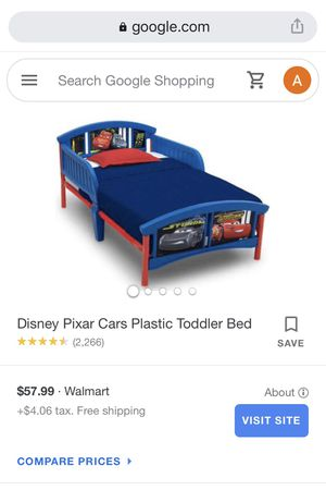 Cars Toddler Bed for Sale in Spring Hill, FL