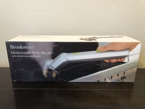 Brookstone motorized BBQ grill brush for Sale in Ventura, CA