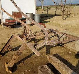 2 Antique Plows for Sale in Dinuba,  CA