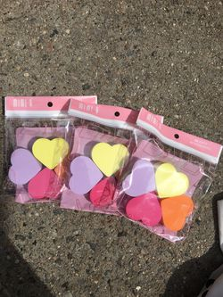 3-pack Heart Beauty Blender for Sale in Queens,  NY