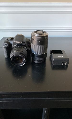 Canon EOS Rebel T5 camera for Sale in Simpsonville, SC