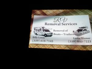 Motorhome Remove for Sale in Fresno, CA