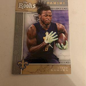 Alvin kamara Rookie Card for Sale in Stanhope, NJ