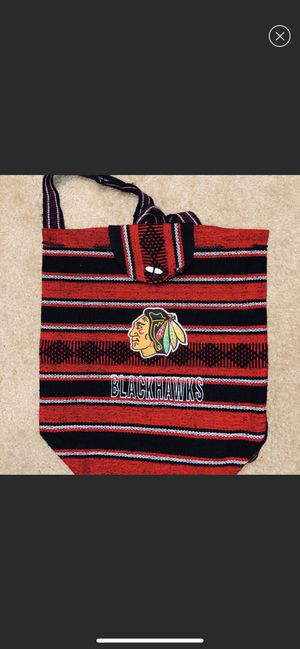 New Blackhawks knitted backpack for Sale in Oak Creek, WI