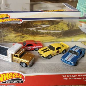 Hot Wheels Premium Walmart Boxed Muscle Set for Sale in Seagoville, TX