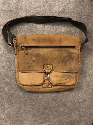 Vintage Leather Messenger Bag for Sale in Beverly Hills, CA