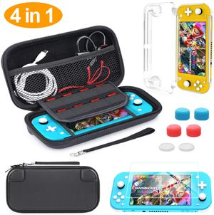 Compatible Nintendo Switch Lite Carrying Case, HEYSTOP Mini Switch Lite Cover Case + Tempered Glass Screen Protector + Games Card + 6 Thumb Grip Caps for Sale in Syosset, NY