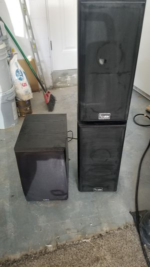 Infinity Floor speakers with Sub for Sale in Sarasota, FL
