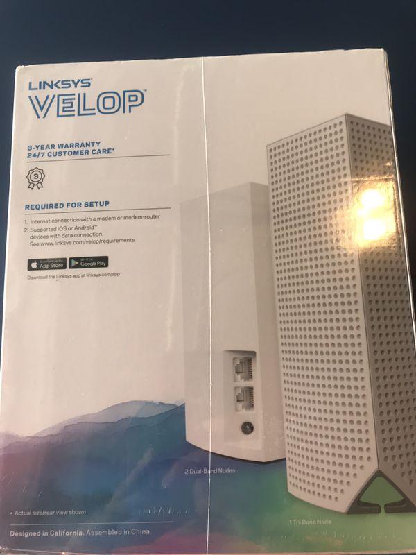 Linksys Velop intelligent mesh wifi AC4600
