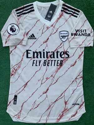2020/21 Arsenal FC away soccer jersey for Sale in Raleigh, NC