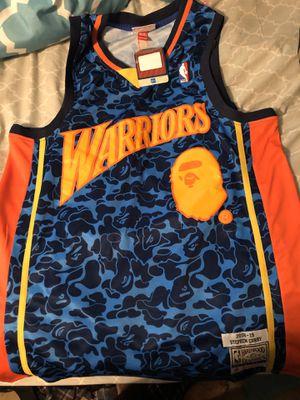 "Bape ""warriors"" jersey for Sale in Fayetteville, NC"