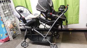 Double stroller $75 for Sale in Fort Myers, FL