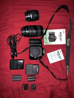 Canon EOS 30D digital camera +accessories for Sale in Sacramento, CA