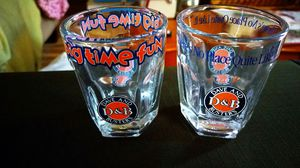 LOT OF 2 DAVE AND BUSTERS D&B LOGO SHOT GLASSES COLLECTIBLE for Sale in Pahrump, NV