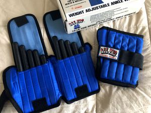 ANKLE WEIGHTS-FULLY ADJUSTABLE for Sale in Eatonville, FL