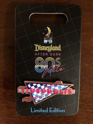 Disney 80s After Dark Party Videopolis Pin (Limited Edition) for Sale in Beaumont, CA