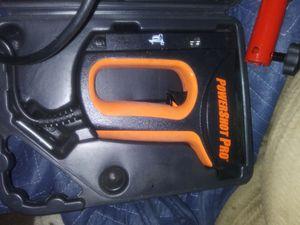 PowerShot Pro electric staple & nail gun for Sale in Scott Depot, WV