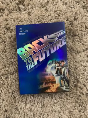Back to the future trilogy DVD for Sale in Sacramento, CA