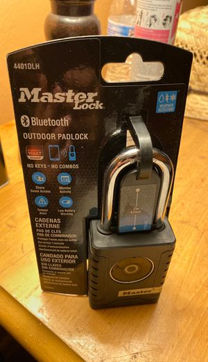 Master Lock Bluetooth for Sale in Placentia, CA