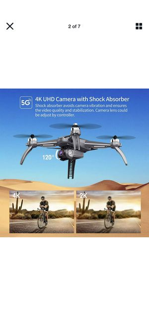 SANROCK B5W GPS Drones with 4K UHD Camera for Adults Beginners, Quadcopter with for Sale in Anaheim, CA