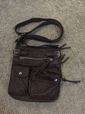 Brown Faux Fake Leather Purse Satchel Long Strap Side-Body Bag for Sale in La Habra, CA
