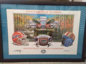 University of Florida 2008 Football SEC National Champions Print for Sale in Oakland Park, FL