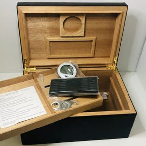 2 Layer Cigar Humidor with Digital Hygrometer and Humidifier for Sale in Jacksonville, NC