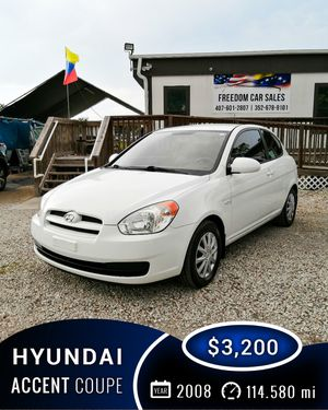 Hyundai Accent Coupe 2008 - $3,200 / 114.580 mi for Sale in Orlando, FL