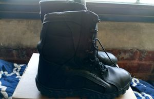 Rocky mens boots size 9.5 for work or play as is no box for$30 these boots retail for a little over$200.00 for Sale in Atlanta, GA