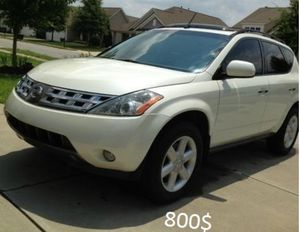 Nothing/Wrong. 2003 Nissan Murano AWDWheels for Sale in Plano, TX