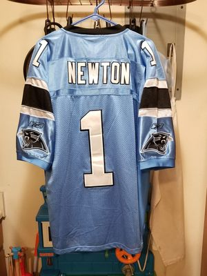 ***NWT ***NFL Carolina Panthers Cam Newton#1 Stitched Reebok Jersey Size 52 for Sale in Littleton, CO