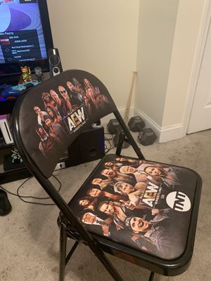 AEW first televised TNT show Front row chair for Sale in Washington, DC