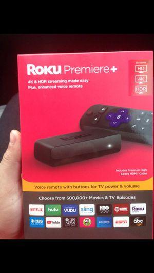 Roku Premiere + for Sale in San Antonio, TX