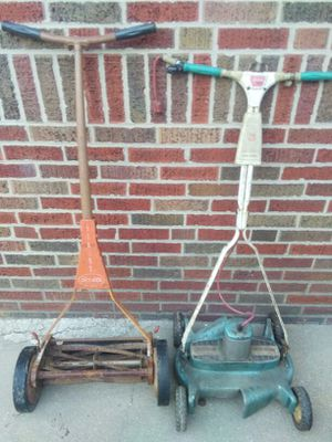 Vintage lawn mower's for Sale in St. Louis, MO