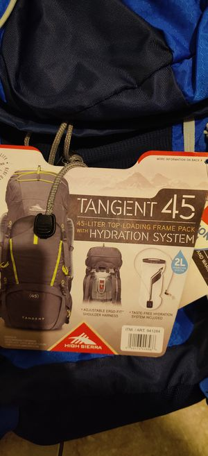 Backpacking backpack for Sale in Chula Vista, CA