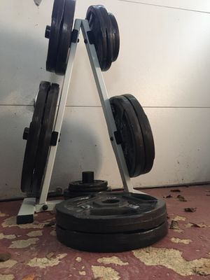 350lbs in weight and bench for Sale in NJ, US