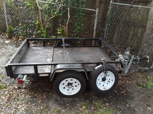 4 x 6 trailer for sale with spare tire for Sale in North Miami Beach, FL