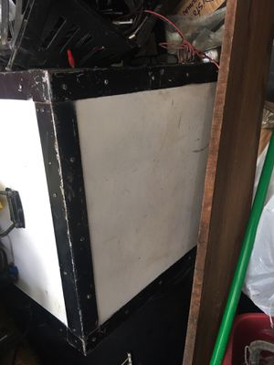 DJ. equipment box with casters for Sale in Queens, NY