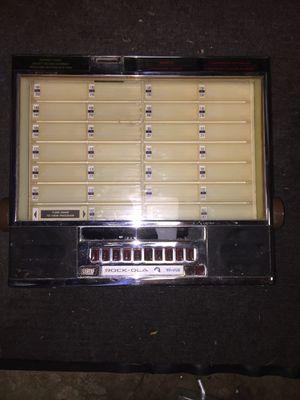 Vintage Rockola Wallbox for Sale in Mercer Island, WA