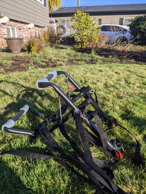 Allen Sports Deluxe 2-Bicycle Trunk Mounted Bike Rack Carrier, 102DN for Sale in Vancouver, WA