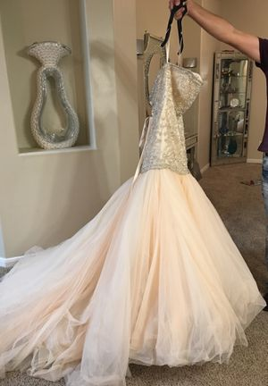 Couture wedding or prom dress size 8-10 for Sale in TX, US