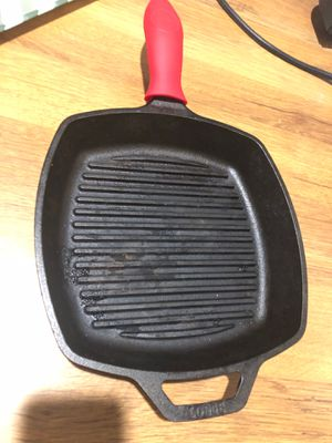 Lodge cast iron grill pan for Sale in Naples, FL