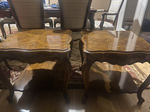 Vintage Gordon's side tables (a pair of two) for Sale in Kirkland, WA