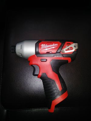 Milwaukee impact drill and bag new only tool not battery for Sale in Chicago, IL