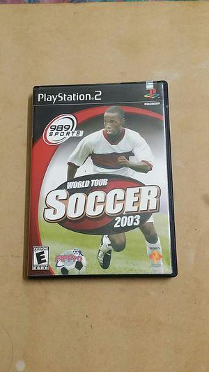 World Tour Soccer 2003 , PS2 for Sale in El Cajon, CA