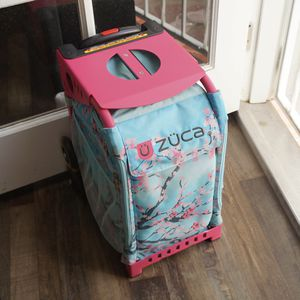 Cherry Blossom Zuca Rolling Backpack Luggage for Sale in Ontario, CA