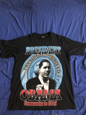 2XL VINTAGE PRESIDENT OBAMA INAUGURATION T-SHIRT for Sale in Columbia, MO