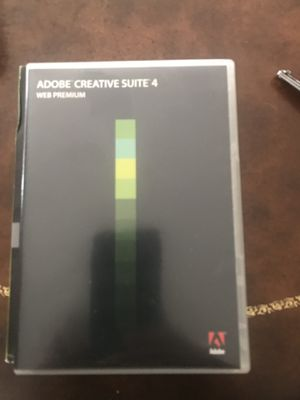 Adobe creative suite 4 $ 5.5 for Sale in San Diego, CA